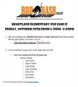 Boo Bash Heartland Fun Fair 2017