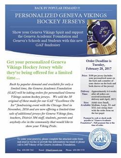 GAF Hockey Jersey Sales