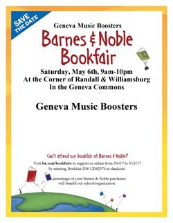 Music Boosters Book Fair