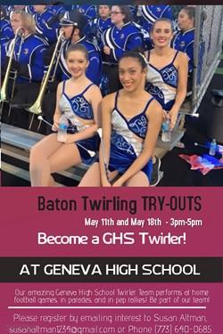 GHS Baton Twirling