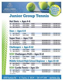 NRC Tennis