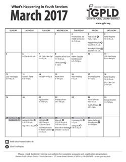 GPLD YS Calendar
