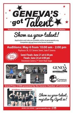 Geneva's Got Talent!