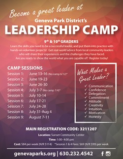 GPD Leadership Camp