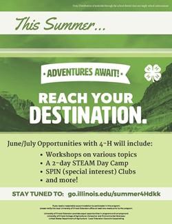 4H Summer Workshops
