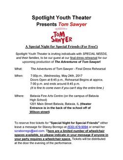 Special Friends Tom Sawyer