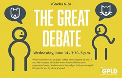 GPLD Great Debate