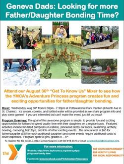 YMCA's Adventure Princess Program