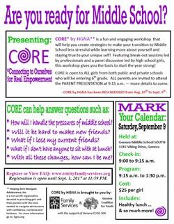 CORE Middle School Program