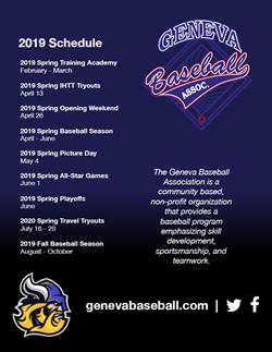 Geneva Baseball June 1