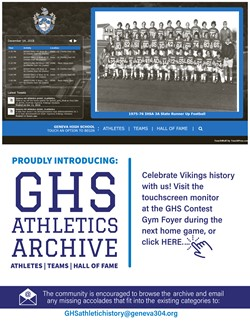 Athletics Archive Website May 31