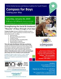 Compass for Boys Jan. 26
