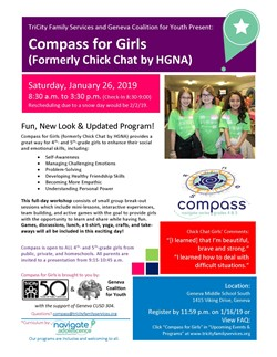 Compass for Girls Jan. 26