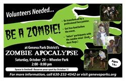 Zombie Volunteer Oct 1