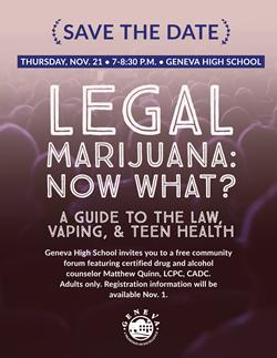 Marijuana Vaping Forum Nov 21