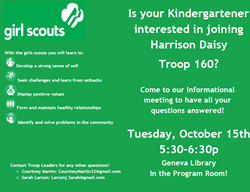 Girl Scout Flyer Oct 15