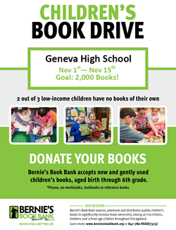 Childrens Book Drive Nov 15