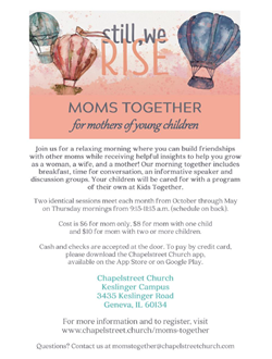 Moms Together May 1