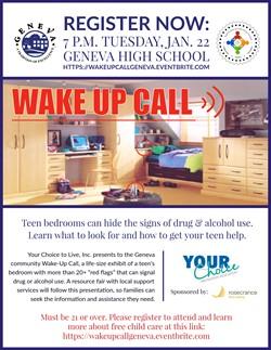 Wake Up Call Jan 22