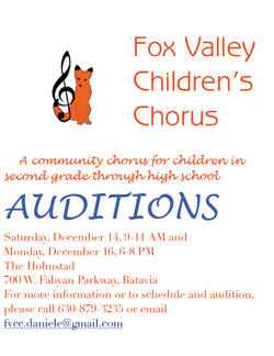 Audition Poster Dec 16