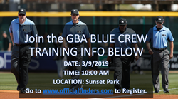Join GBA Blu Crew March 9