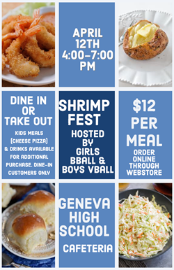 Shrimp fest April 12