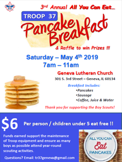 Pancake Breakfast May 4