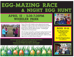 EggMazing Race April 12