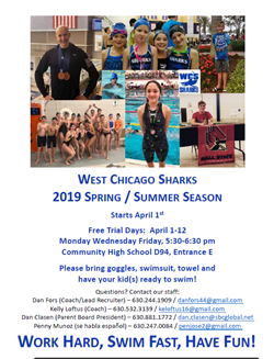 Sharks Flyer April 1