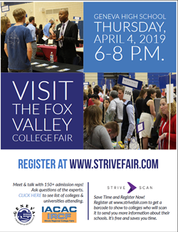 Fox Valley College Fair April 4