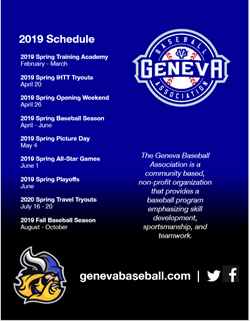 Geneva Baseball June 8