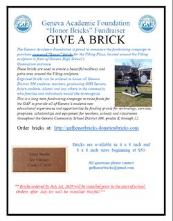 GAF Honor Bricks July 1