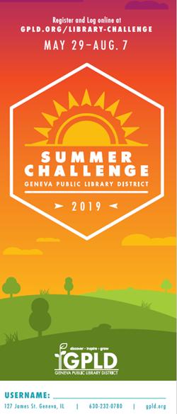 Summer Challenge Bookmarks Aug 7