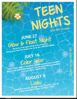 2019 Teen Nights Aug 9
