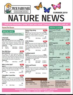 Nature News Summer 2019 Aug 25