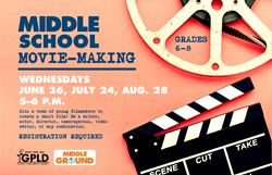 Middle School Movie Making July 24