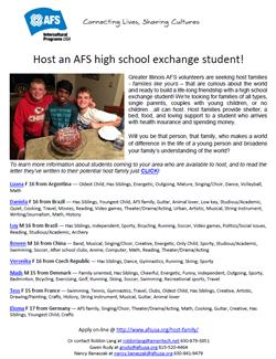 AFS Greater Illinois Student Bio Aug 8