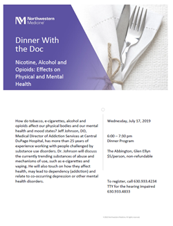 Dinner with Doc July 17