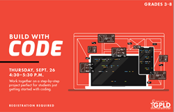 Sept 26 Build With Code Sept 27