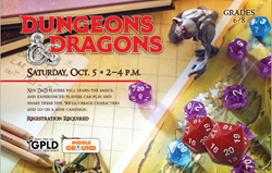 Dungeons and Dragons Fall 2019 Oct 16