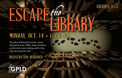 Escape the Library Fall 2019 Oct 15