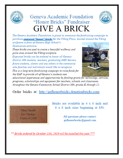 GAF Honor Bricks Oct 17