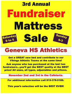 Mattress Sale Nov 3