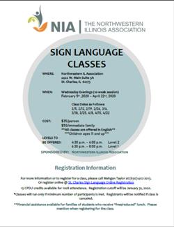 Sign Language Feb 5