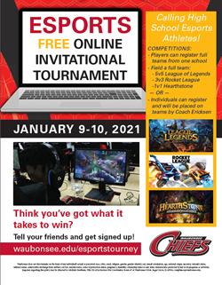 Athletics HS Esports Tournament 2020 Jan 10