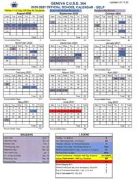 GELP Calendar Icon