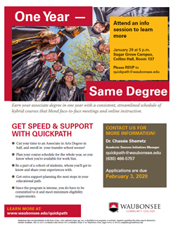 QuickPath Info Session Jan 29