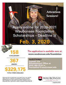 Scholarship Jan 27