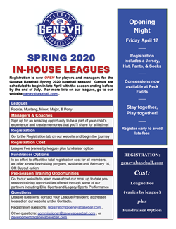 GBA Spring Leagues April 17
