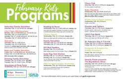 Library Kids Programs Feb 29